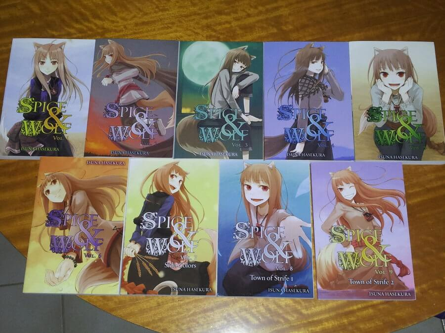 Spice and Wolf-light novels
