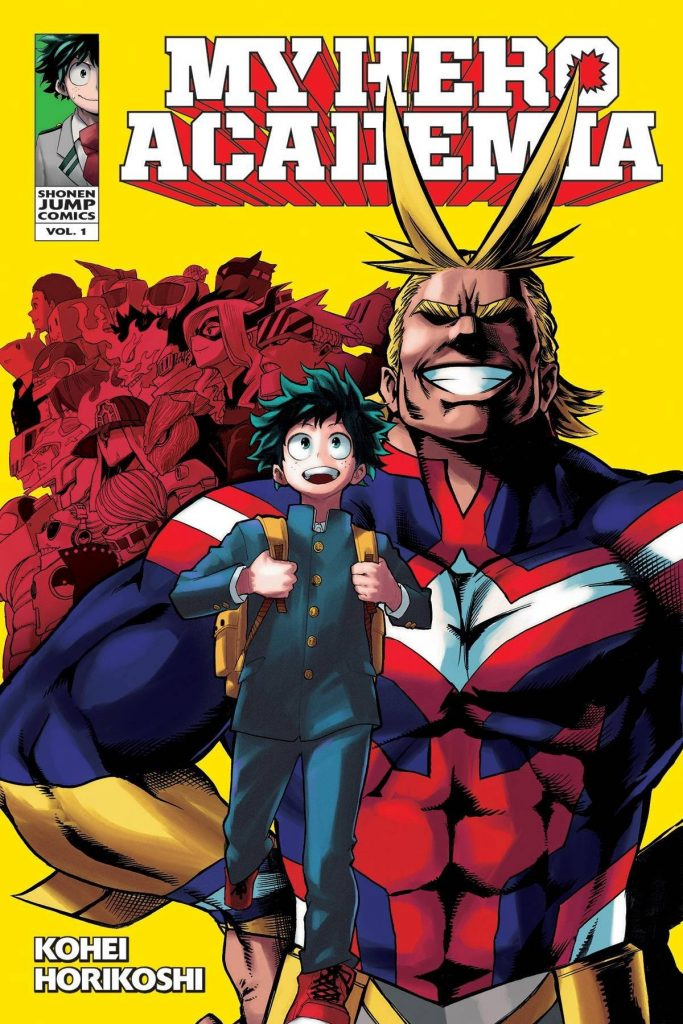 Top Manga Mais Vendidos Japão - 1ª Metade 2018 | Boku no Hero Academia - Manga recebe Novo Spinoff