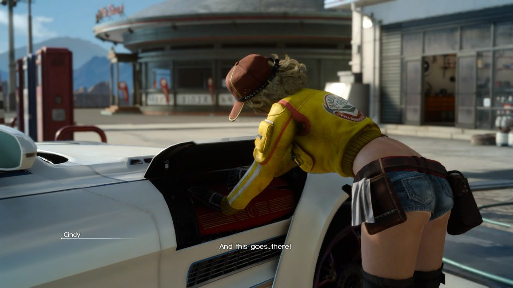 Final Fantasy XV Rabo da Cindy