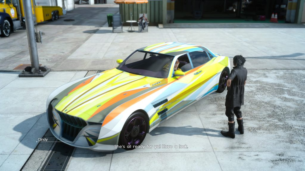 Final Fantasy XV Regalia Tunning