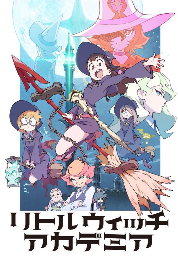 Little Witch Academia TV Revela 2 Novos Trailers | Tema Musical