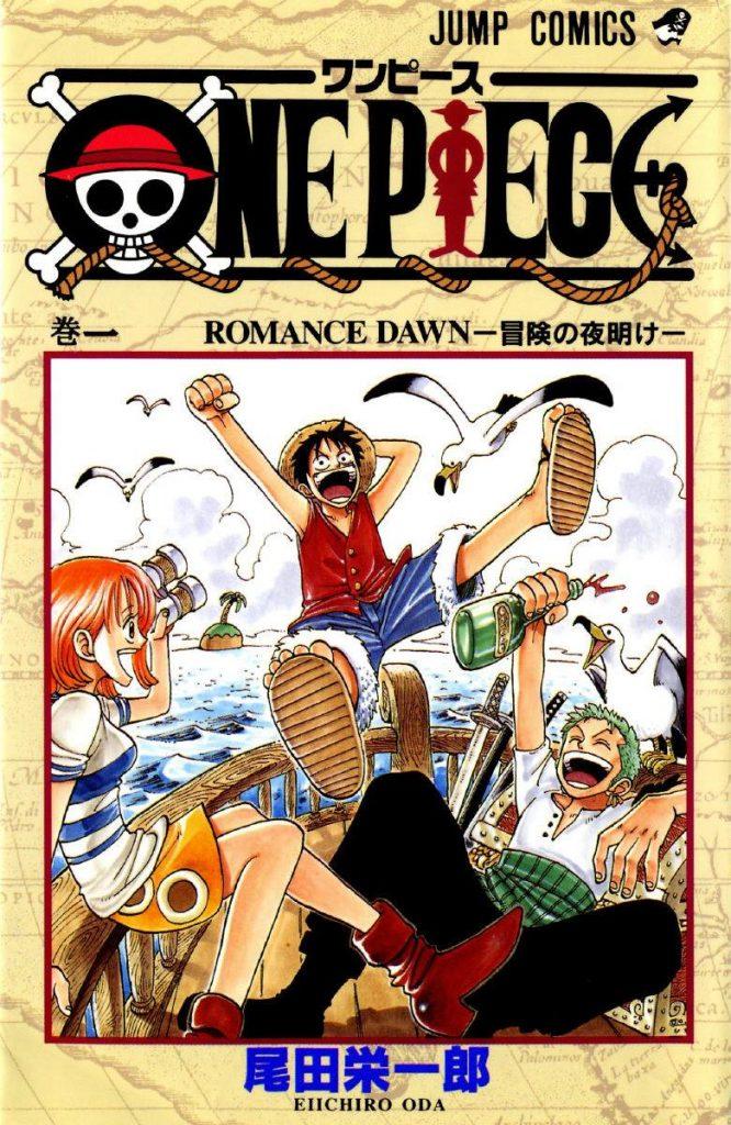 Top 10 Mangas mais vendidos 2016 One Pice Volume 1