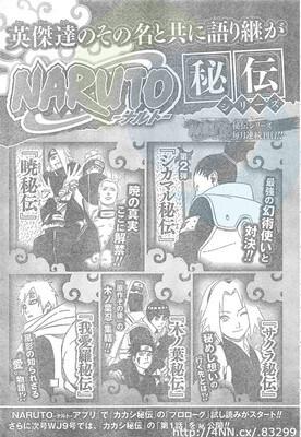 Revelado Conteúdo dos Novels Epílogo de Naruto