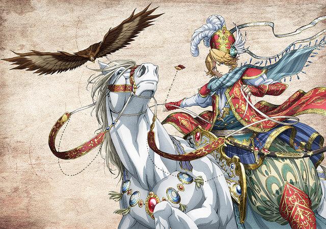 Shōkoku no Altair apresenta Elenco e Staff | Vídeo