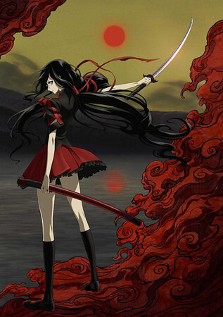 Anime Blood-C recebe Filme Live Action este Outono