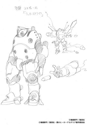 Horikoshi revela Designs para Boku no Hero Academia OVA #2