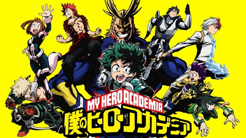 Boku no Hero Academia recebe Anime Original no Volume #14
