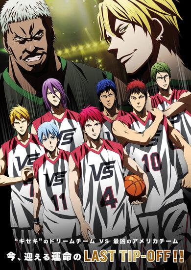 Kuroko no Basket LAST GAME apresenta Primeiro Trailer