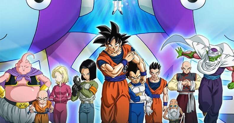 Calendário Dragon Ball Super Novembro 2017