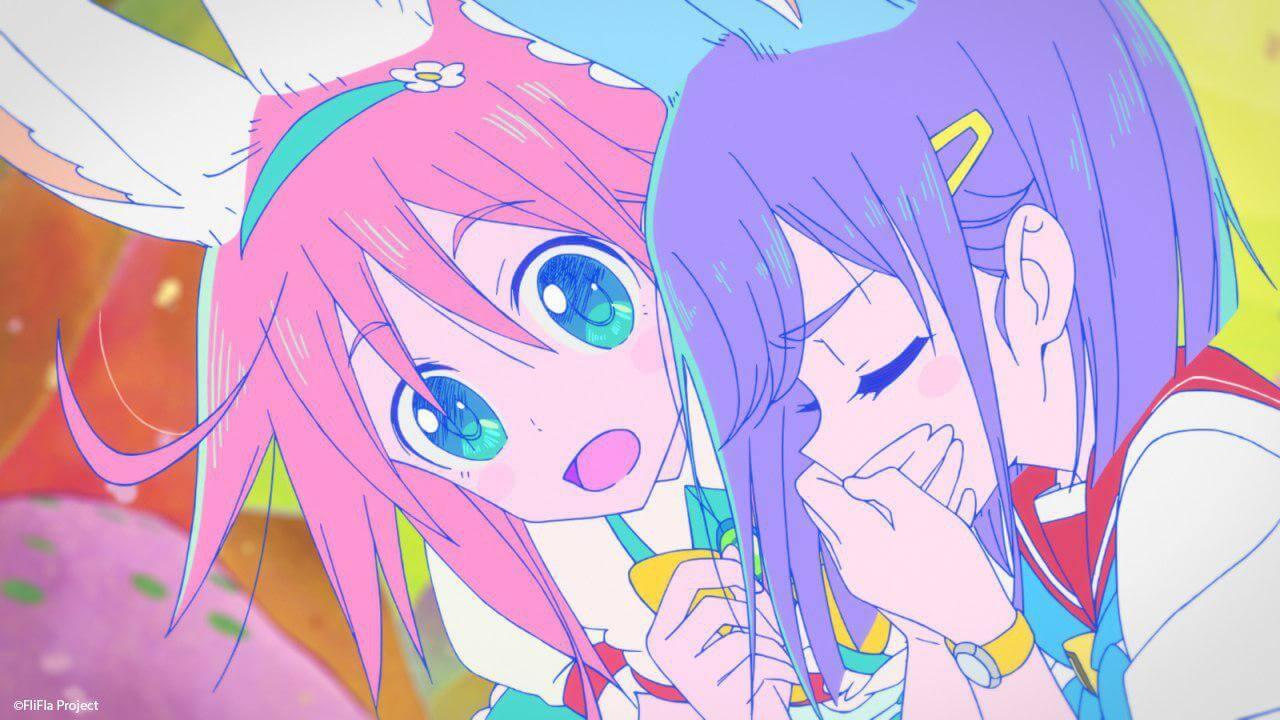Flip Flappers Imagem Top Anime 2016