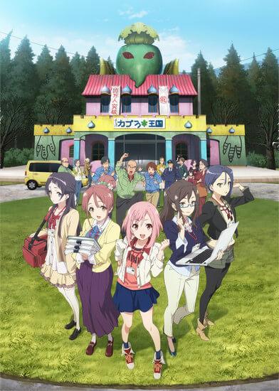 Sakura Quest Revela Vídeo Promocional e Data de Estreia