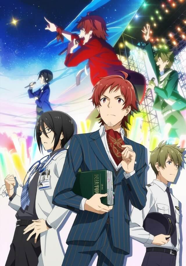 The IDOLMASTER SideM recebe Adaptação Anime Poster