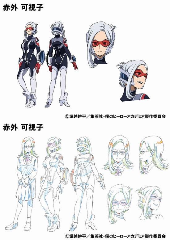 Boku no Hero Academia OVA_Training of the Dead_Kashiko Sekigai char design
