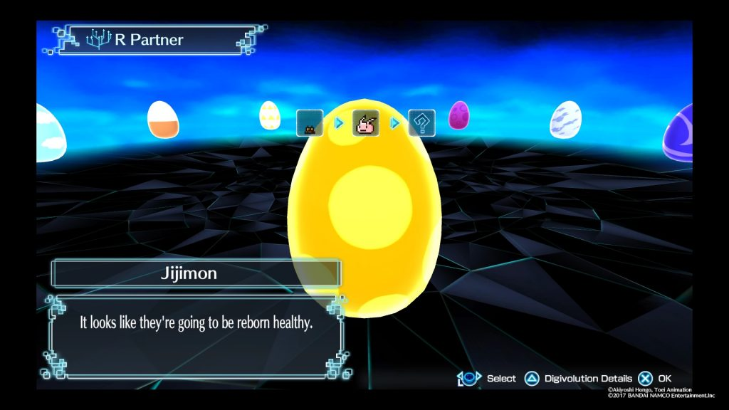 Digimon World Next Order DigiEggs