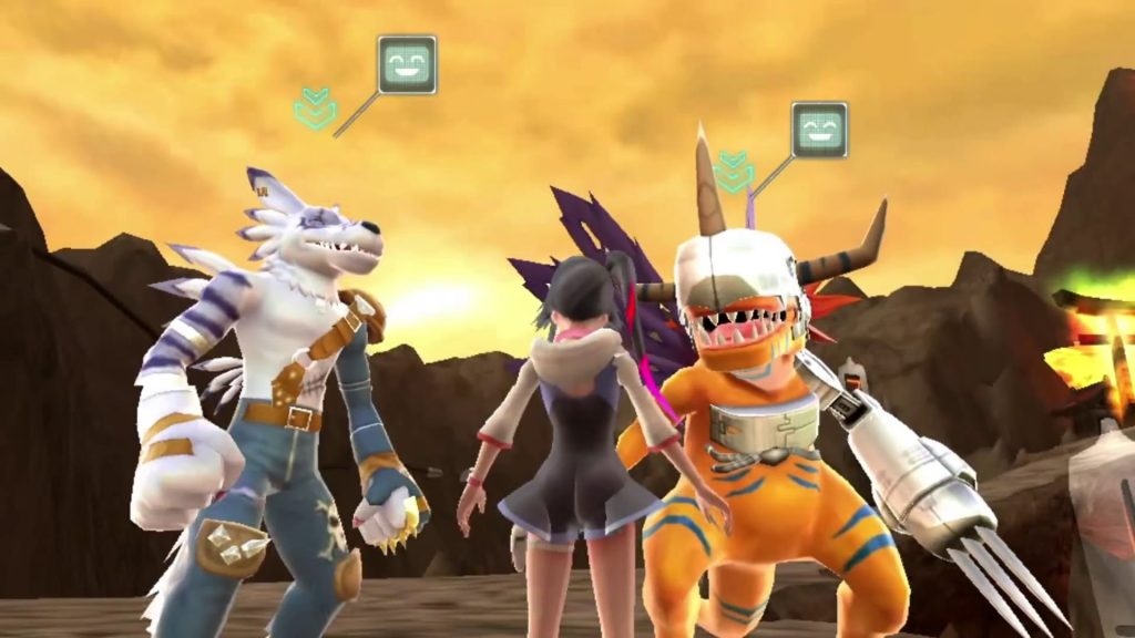 Digimon World Next Order Garumon Agumon