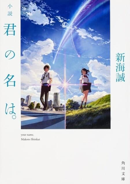 Kimi no Nawa light novel_cover