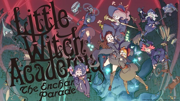 Little Witch Academia The Enchanted Parade_movie_horizontal poster