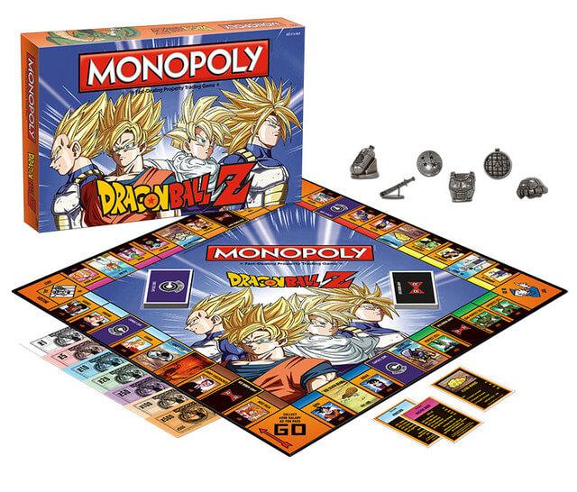 Monopoly Dragon Ball Z disponível para encomenda | USAopoly