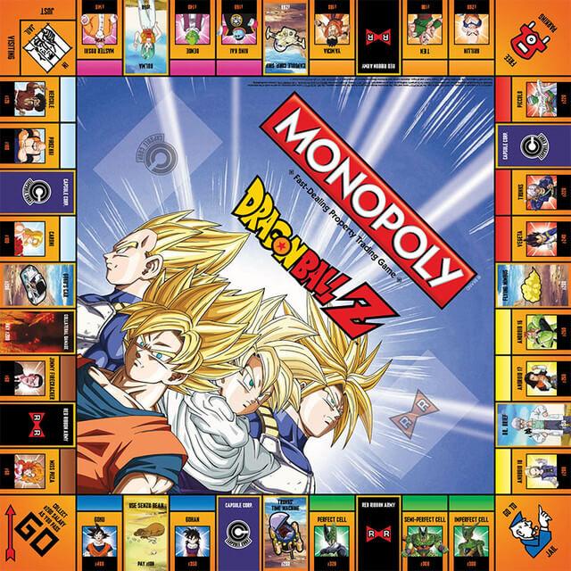 Monopoly Dragon Ball Z disponível para encomenda