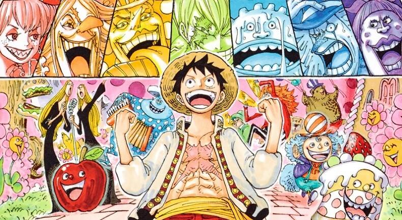 Calendário One Piece Junho 2018