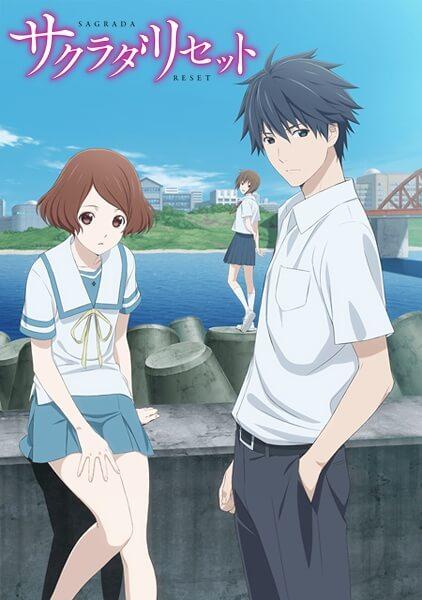 Sakurada Reset - Poster Promocional