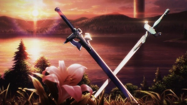 Sword Art Online horizontal poster_swords