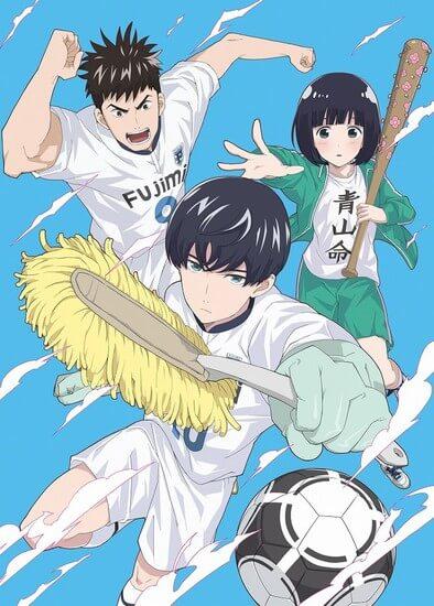 Vídeo Promocional Anime Keppeki Danshi Aoyama-kun | Studio Hibari