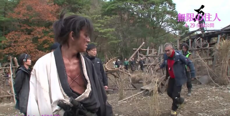 Blade of the Immortal Live Action - Vídeos Teaser e Making Of