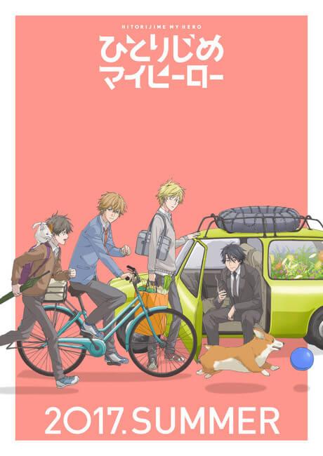 Hitorijime My Hero Anime - Vídeo de Imagens e Estreia | Hitorijime My Hero Anime - Elenco e Equipa Técnica | Hitorijime My Hero Anime - Ouve o Opening antes da Estreia