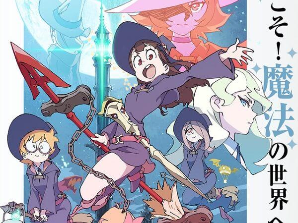 Little Witch Academia - Manga de Keisuke Sato Termina Este Mês