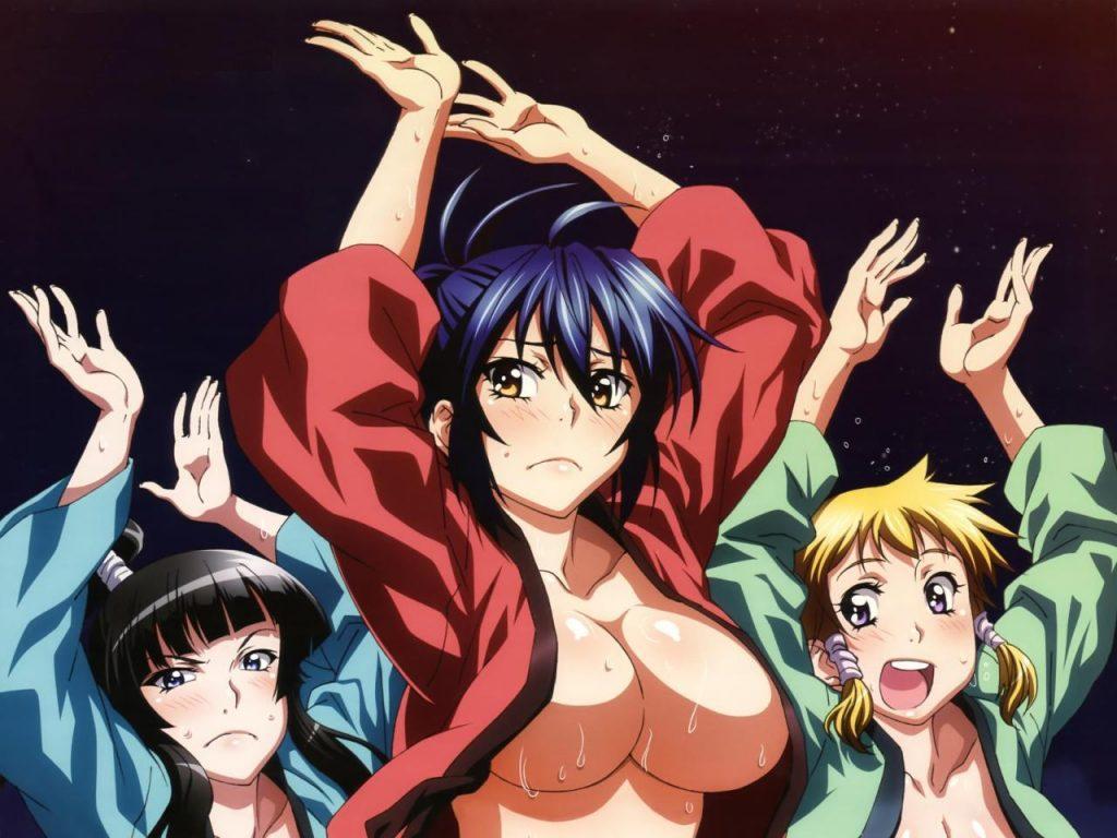 top animes demasiados eróticos para televisão