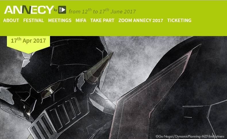 Novo filme de Mazinger Z revela Primeiras Cenas no Annecy