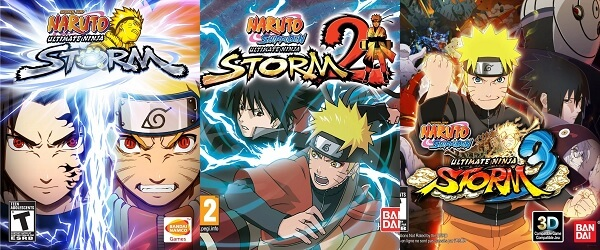 Naruto Ultimate Ninja Storm Trilogy chega a Nintendo Switch