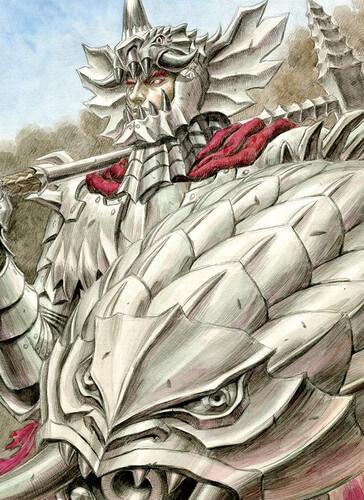 Berserk confirma Primeiro Novel - História focada em Grunbeld