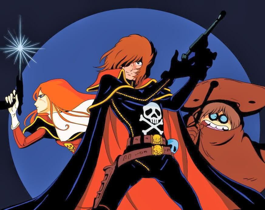 Captain Harlock Manga Licenciado pela Seven Seas Imagem