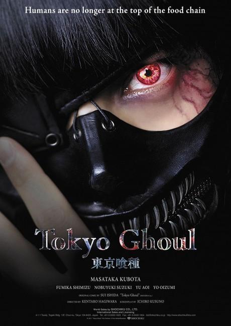 Tokyo Ghoul Live-Action revela Poster Ocidental Imagem