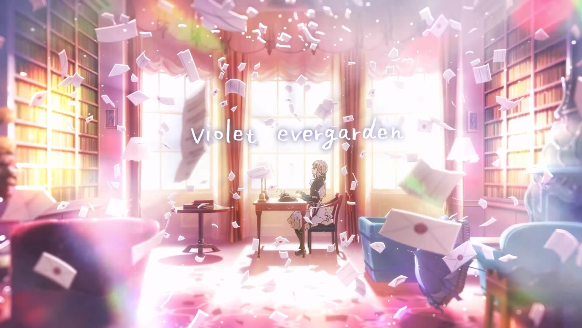 Violet Evergarden revela novo Trailer e Data de Estreia
