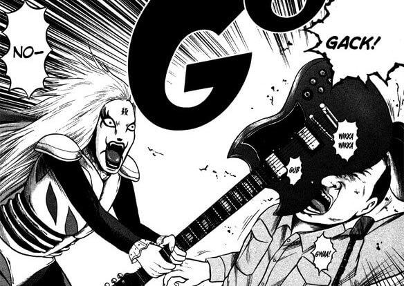 Autor de Detroit Metal City lança Novo Manga