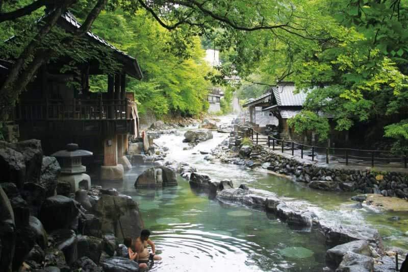 Como se toma Banho no Japão Imagem