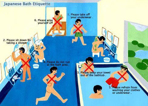 Como se toma Banho no Japão Guia Imagem