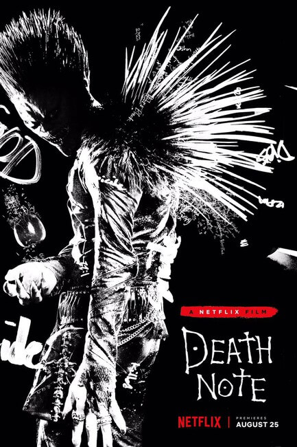 Death Note Live Action - Netflix revela Trailer Oficial