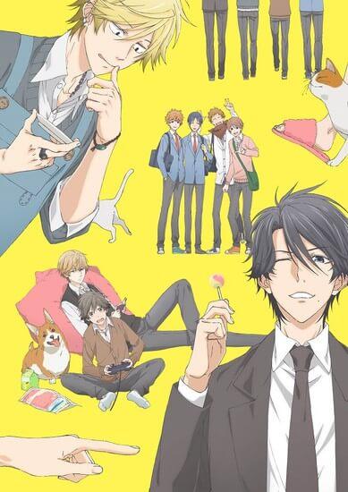 Hitorijime My Hero Anime - Trailer antevê Tema Opening