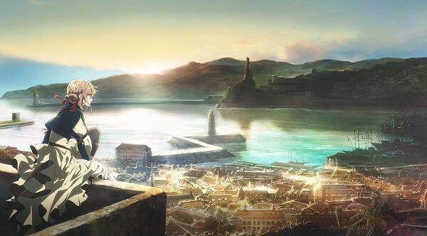 Violet Evergarden revela Primeiro Trailer e Poster | KyoAni