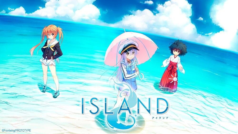 ISLAND - Visual Novel terá anime