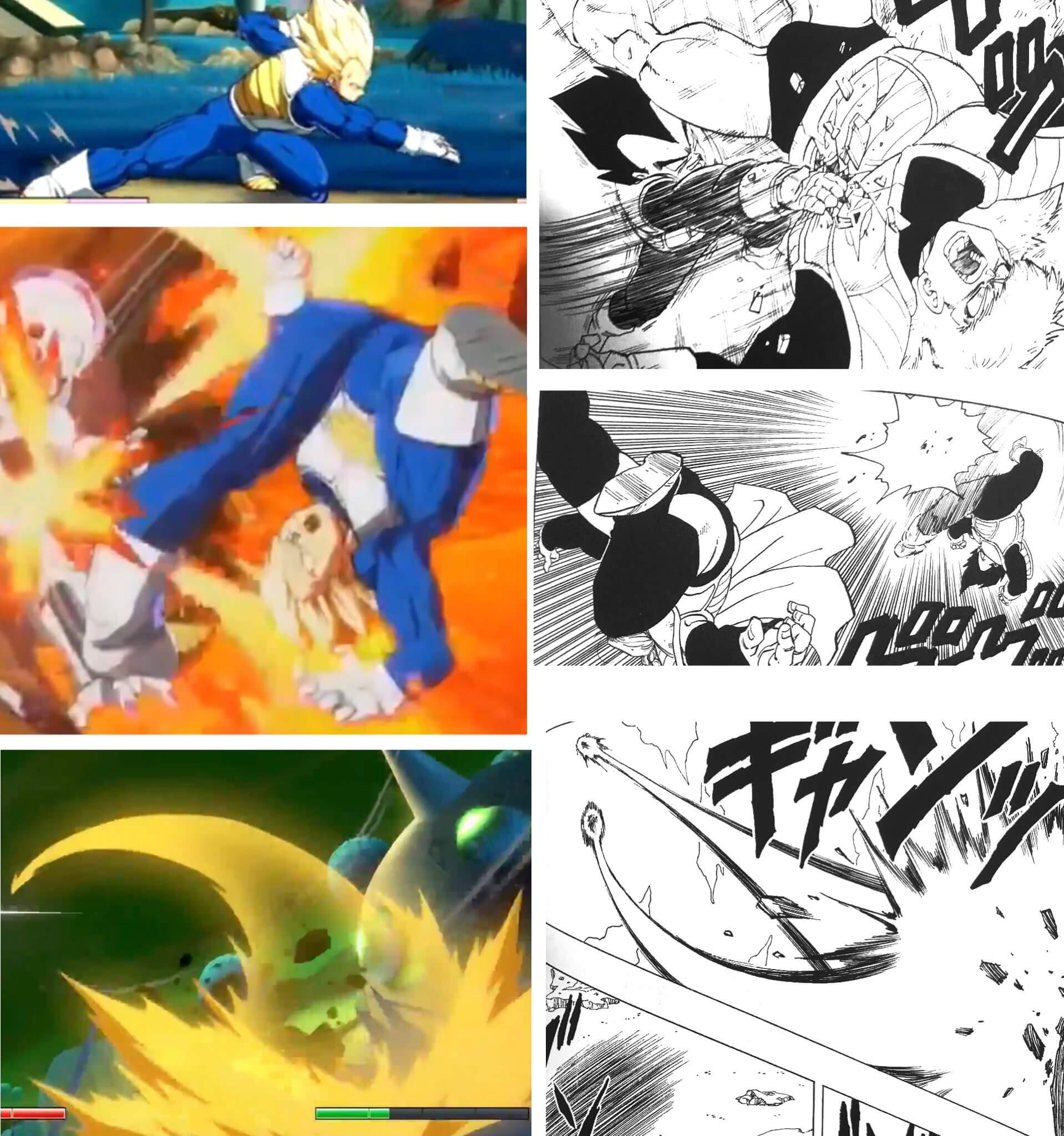 Krillin e Piccolo em Dragon Ball FighterZ
