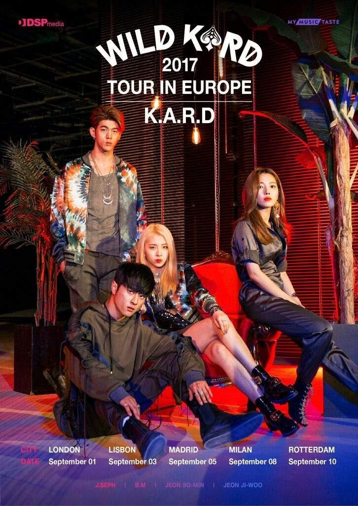 KARD - Conhece o grupo K-pop que vem a Portugal Poster