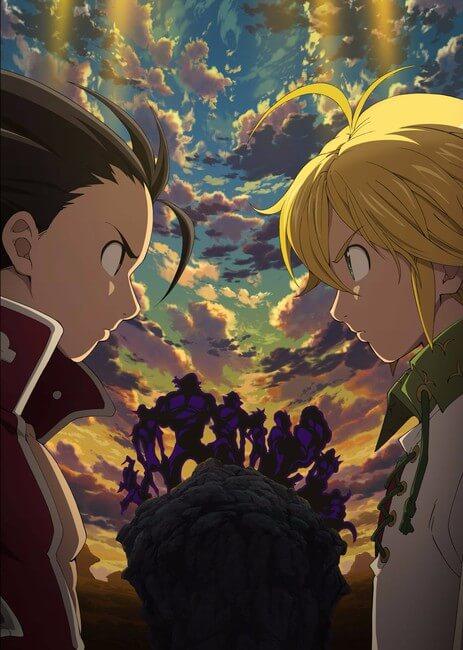 Nanatsu no Taizai revela Nova Temporada - Trailer e Estreia