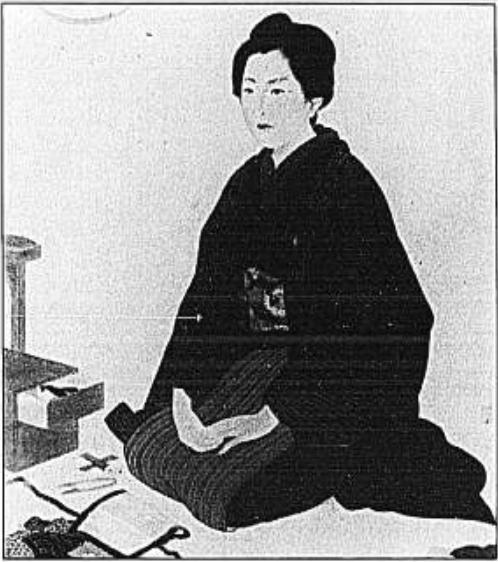 Japão e a Adoração por Olhos Grandes edo period women