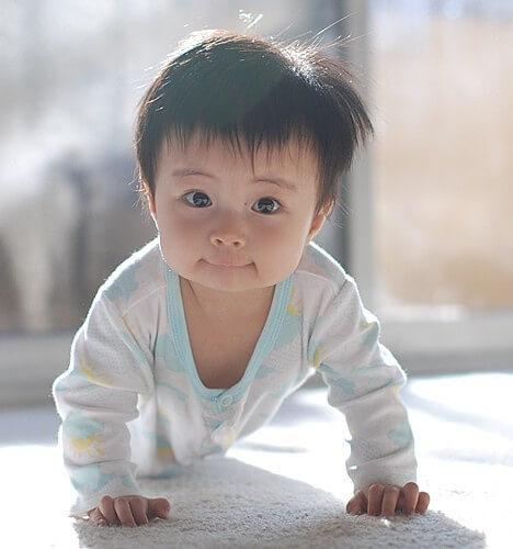 porque os orientais têm olhos rasgados? bebe