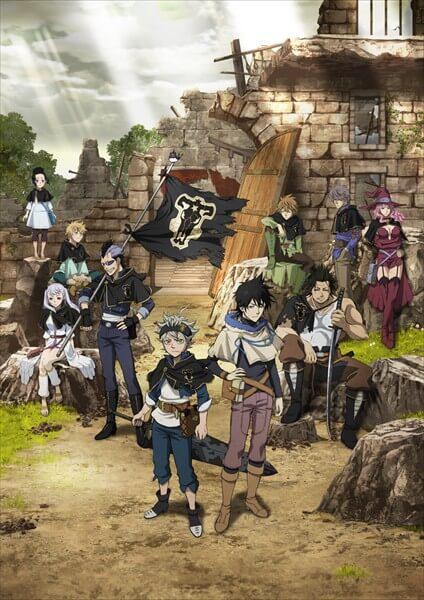Black Clover Anime revela mais 3 Designs de Personagens